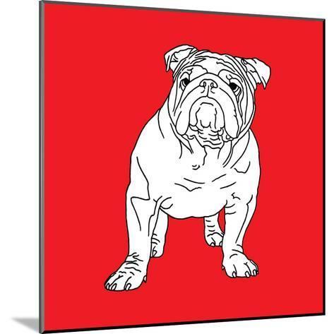 British Bulldog-Anna Nyberg-Mounted Art Print