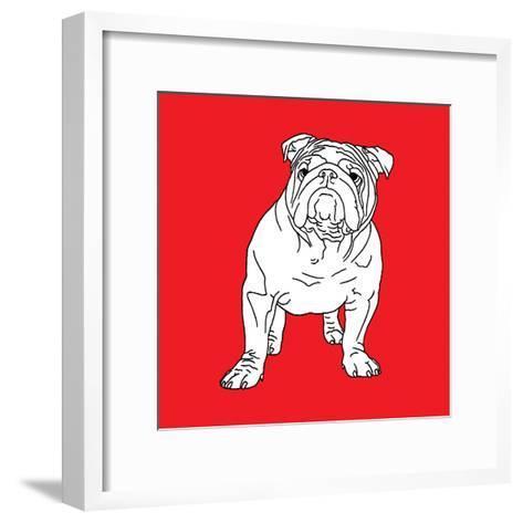 British Bulldog-Anna Nyberg-Framed Art Print