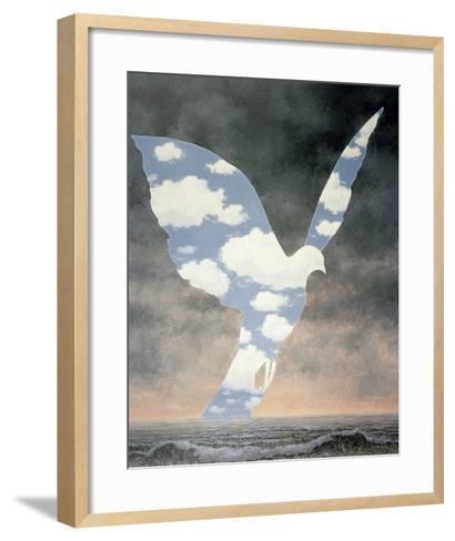 La Grande Famille-Rene Magritte-Framed Art Print