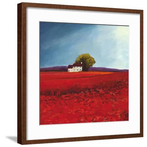 Field of poppies-Philip Bloom-Framed Art Print