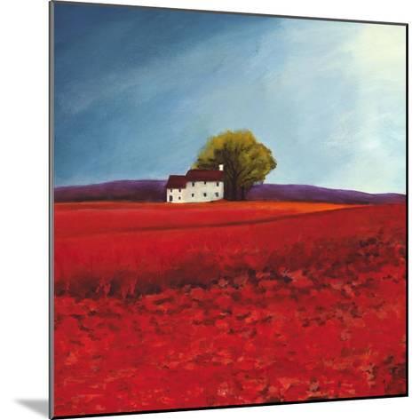 Field of poppies-Philip Bloom-Mounted Art Print