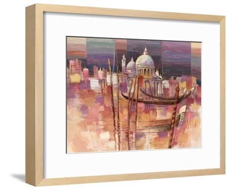Riflessi a Venezia-Luigi Florio-Framed Art Print