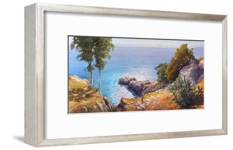 Orizzonte Mediterraneo-Adriano Galasso-Framed Art Print