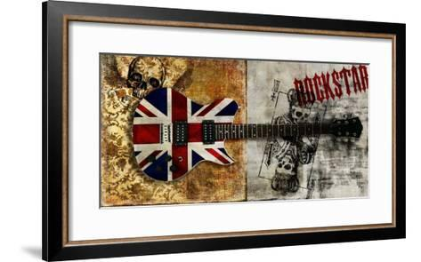 Rockstar-Steven Hill-Framed Art Print