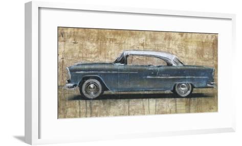 Vintage Blue-Dario Moschetta-Framed Art Print