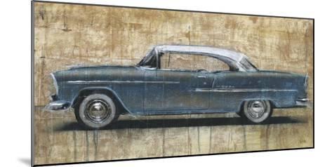 Vintage Blue-Dario Moschetta-Mounted Art Print