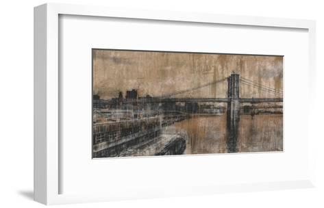 Brooklyn Bridge 1-Dario Moschetta-Framed Art Print