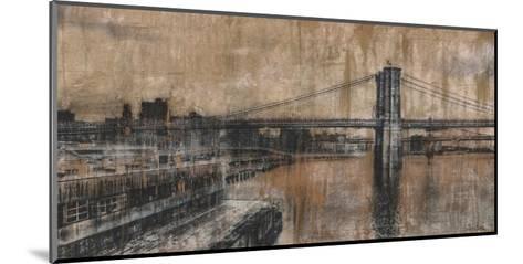 Brooklyn Bridge 1-Dario Moschetta-Mounted Art Print