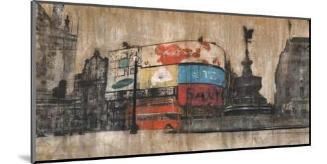 Piccadilly Circus 1-Dario Moschetta-Mounted Art Print