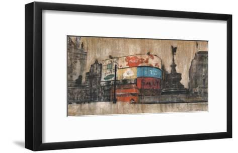 Piccadilly Circus 1-Dario Moschetta-Framed Art Print
