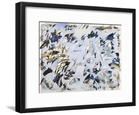 Da uno a nove-Nino Mustica-Framed Art Print