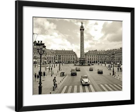 Place Vendome, Paris-Vadim Ratsenskiy-Framed Art Print
