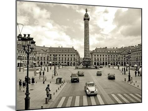 Place Vendome, Paris-Vadim Ratsenskiy-Mounted Art Print