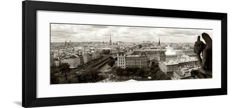 Paris Panorama-Vadim Ratsenskiy-Framed Art Print