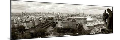 Paris Panorama-Vadim Ratsenskiy-Mounted Art Print