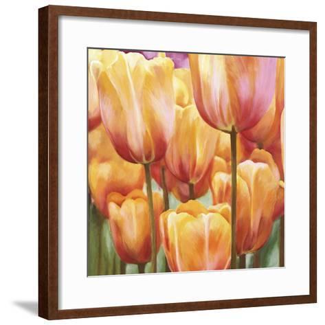 Spring Tulips II-Luca Villa-Framed Art Print