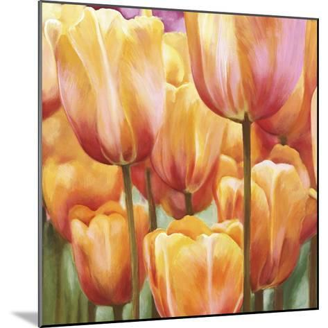 Spring Tulips II-Luca Villa-Mounted Art Print