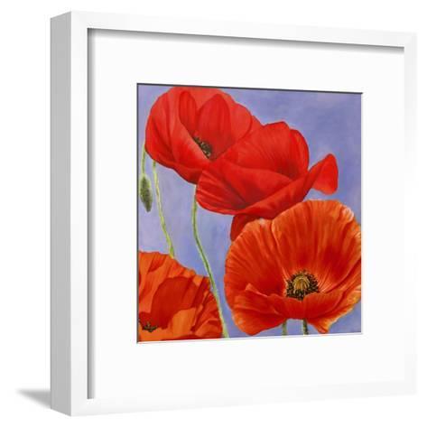 Dance of Poppies I-Luca Villa-Framed Art Print