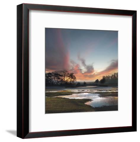 Beyond The Sun-William Vanscoy-Framed Art Print