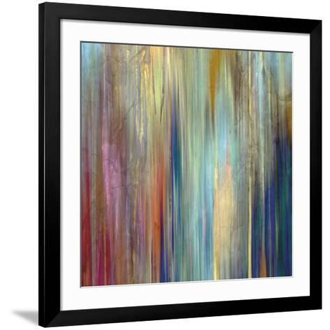 Sunset Falls II-John Butler-Framed Art Print