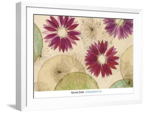 Atmosphere Three-Karen Sikie-Framed Art Print