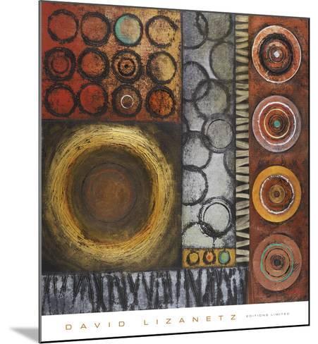 Rotate II-David Lizanetz-Mounted Art Print