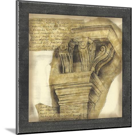 Antique Capitals II-Jennifer Goldberger-Mounted Giclee Print