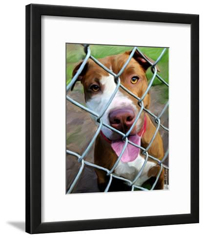 Fenced In-Robert Mcclintock-Framed Art Print
