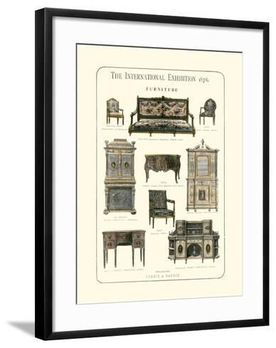 Furniture 1876--Framed Art Print