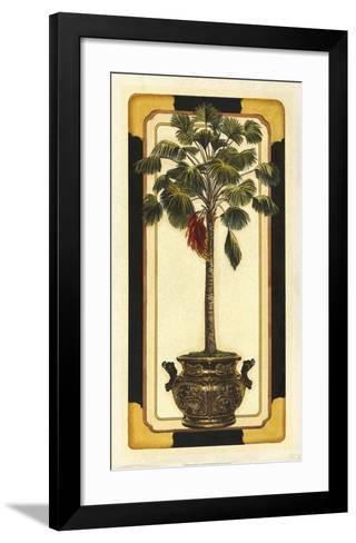 Peaceful Palm II-Deborah Bookman-Framed Art Print
