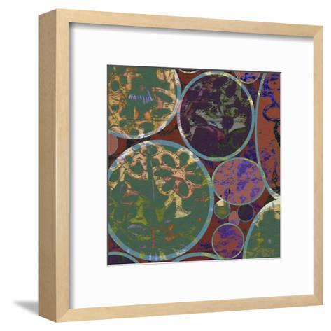 B-Jeweled Deco I-Ricki Mountain-Framed Art Print