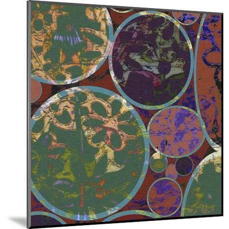 B-Jeweled Deco I-Ricki Mountain-Mounted Art Print