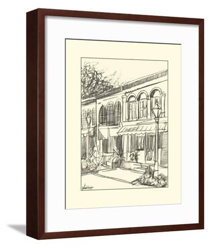 Sketches of Downtown V-Ethan Harper-Framed Art Print