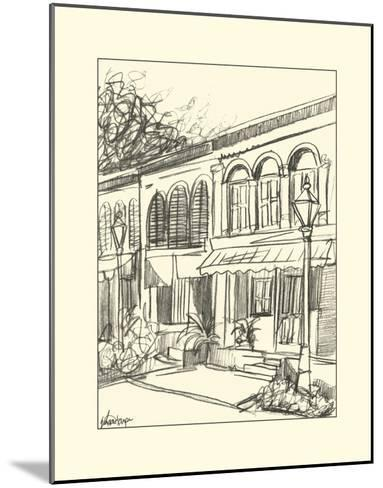 Sketches of Downtown V-Ethan Harper-Mounted Art Print
