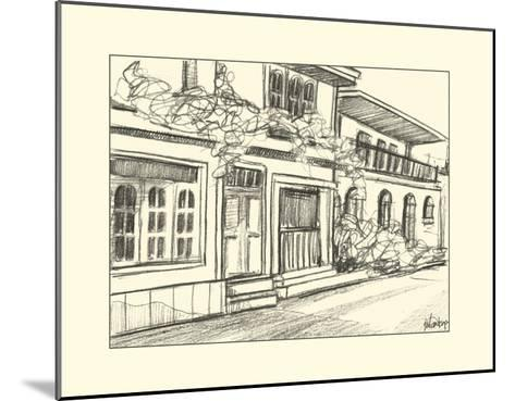 Sketches of Downtown III-Ethan Harper-Mounted Art Print