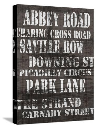 Streets of London I-Andrea James-Stretched Canvas Print