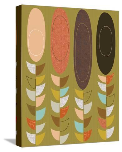 Petal Pods II-Jenn Ski-Stretched Canvas Print