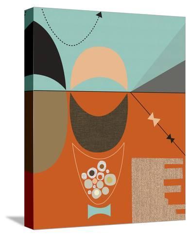 Bow Tie-Jenn Ski-Stretched Canvas Print