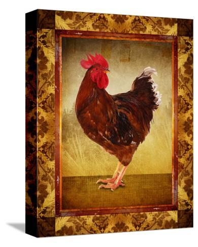 Brown Hen--Stretched Canvas Print