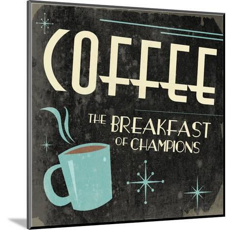 Coffee-Jace Grey-Mounted Art Print