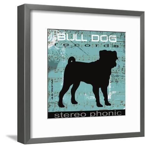 Bull Dog-Taylor Greene-Framed Art Print