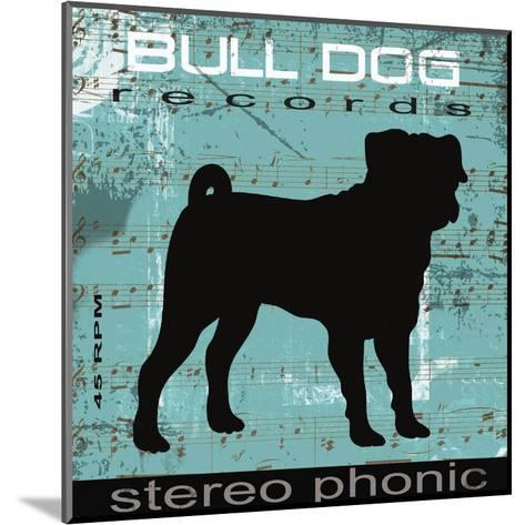 Bull Dog-Taylor Greene-Mounted Art Print