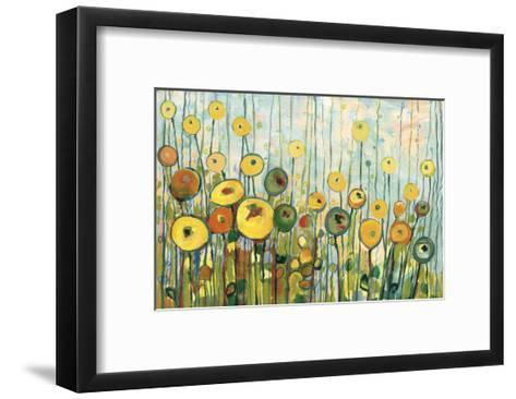 I?ll Meet You For Martinis in the Poppy Garden-Jennifer Lommers-Framed Art Print