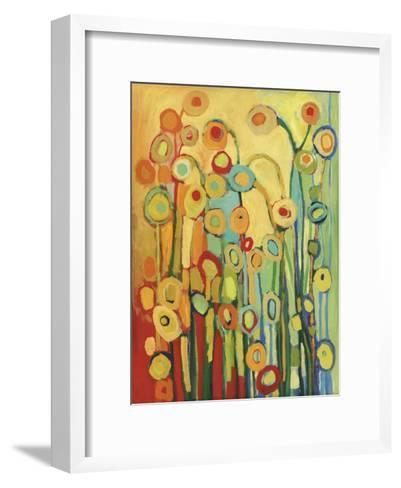 Dance of the Poppy Pods-Jennifer Lommers-Framed Art Print