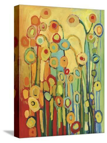 Dance of the Poppy Pods-Jennifer Lommers-Stretched Canvas Print
