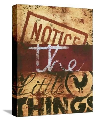 Notice The Little Things-Rodney White-Stretched Canvas Print