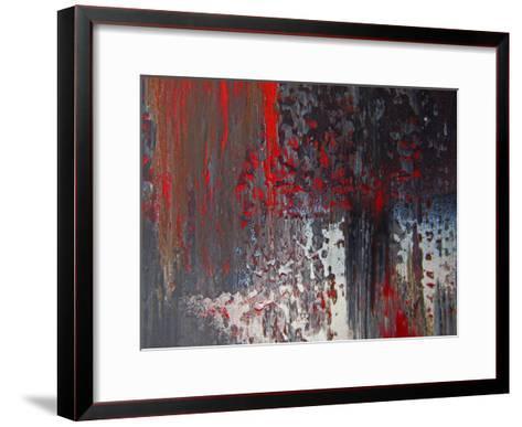 Abstract Panel II-Jean-Fran?ois Dupuis-Framed Art Print