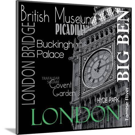 London--Mounted Art Print