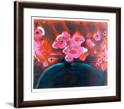 Marilyn's Flowers II-Peter Max-Framed Art Print