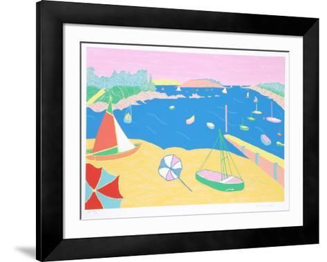 Brittany Beach-Marion McClanahan-Framed Art Print